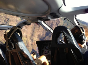 Yep...I was in a helicopter. No lie.