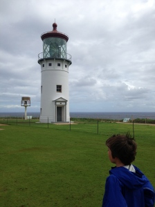 Joe at the lighthouse