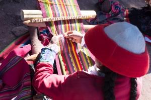Weaving the old school way