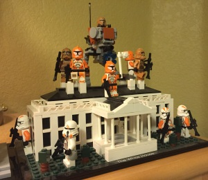 Clone Troopers have seized control of the White House again!