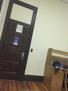 Hello, stark, college dorm room!