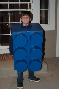 The year he wanted to be a Lego.