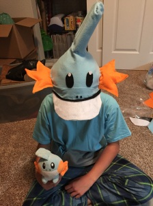 The year he was Mudkip.